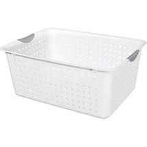 6 Sterilite Storage Baskets Craft Bins Cupboard... - $51.95