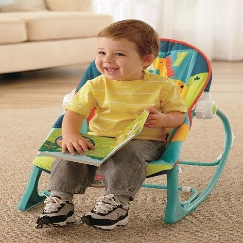 Fisher Price Infant Toddler Baby Rocker Play Seat