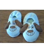 Avon girl's blue dog slippers size M-L/M-G - $4.00