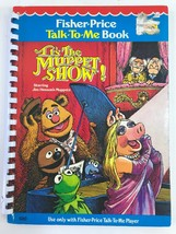Fisher Price Talk To Me Player Book ITS THE MUPPET SHOW #20 - $9.49