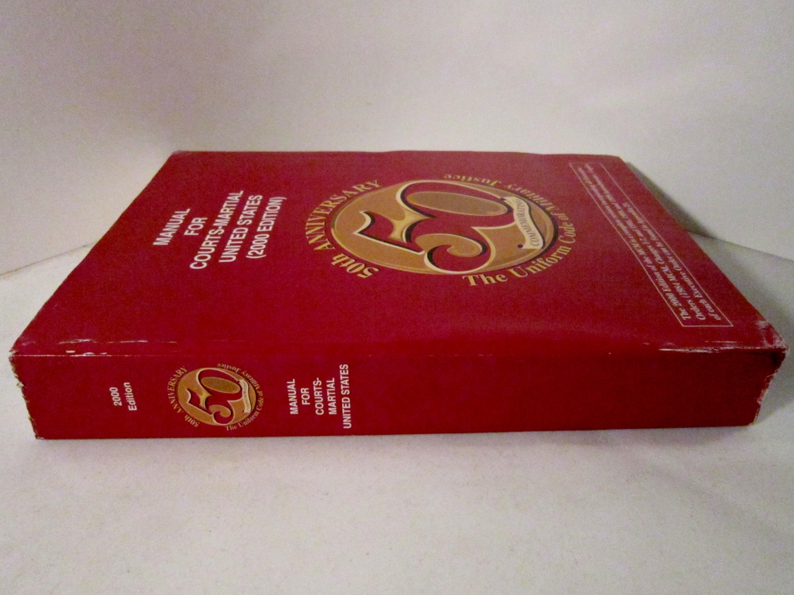 Manual for courts martial united states 2000 edition military justice