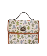 Santa Fe Cactus Canvas Handbag - $35.00