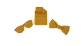 3D Printed Nerd Fondant Cutter Set - $14.99