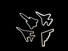 3D Printed Plane cookie cutter set - $15.99