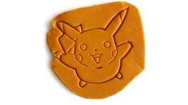 Pokemon Pikachu Cookie Cutter, Fondant cutter, cheese cutter - $11.99
