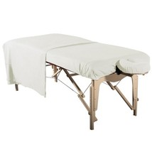 NEW MASSAGE TABLE DELUXE BRUSHED FLANNEL 3pc SHEET SET-FITTED, FLAT & FA... - $27.99