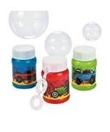24 Mini Race Car Bubble Bottles - $9.61