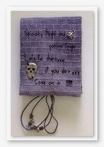 Spooky Night Needle Book cross stitch kit by Fe... - $43.20