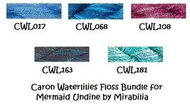 FIBER PACK Mermaid Undine MB134FP Mirabilia Designs-Nora Corbett - $28.80