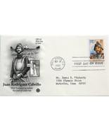 Sept. 28, 1992 First Day of Issue, PC Society Cover, Juan Rodriguez Cabr... - €1,25 EUR