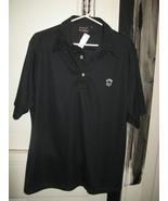 Rock Steady Punk Rock Mohawk bar code button Polo shirt VLV XL - $41.87