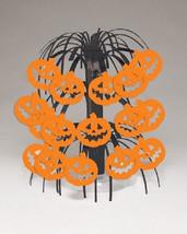 """Pumpkin Mini Cascade Centerpiece Party Halloween 8.5"""" - $2.84"""