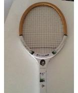 Yvonne Goolagong Signature Vintage Wooden Tennis Racquet Dunlop - $29.99