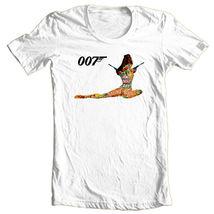 James Bond T-shirt 007 Original Casino Royal 1970 vintage cotton graphic tee image 3