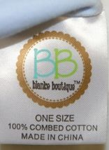 Blanks Boutique Infant Baby Beanie Knot Cap Hat One Size Light Blue image 4