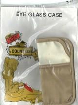 Vintage Raymar Counted Cross Stitch Craft Item Eye Glass Case - $10.56