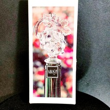 "MIKASA CHABLIS Austrian Lead Crystal Wine Bottle Stopper Grapes 5 7/8"" T... - $21.84"