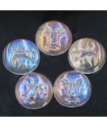 Special 22x15mm Aura Angel Quartz Moon Goddess Face Cabochon Cab (5 Piec... - £17.61 GBP