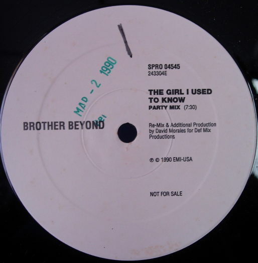 Brother Beyond - The Girl I Used to Know - SPRO-04549