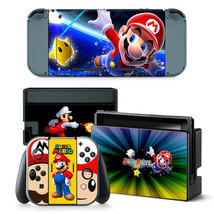 Nintendo Switch Mario Party Console Joy-Con Controller Vinyl Skin Decal  - $13.83