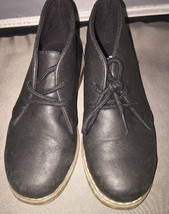 Childrens Place Lace-Up Brown Ankle Desert Chukka Boots Size 13 ~ EUC - $14.95