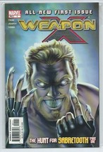 Weapon X #1 and 2 The Hunt For Sabretooth Original Marvel Comic Book Ser... - $2.69