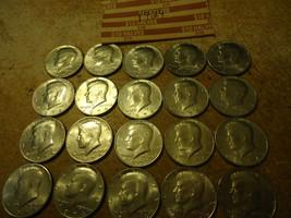 1974 Kennedy Half Dollar Roll >> C/S & H - $15.35