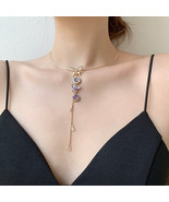 Korean Elegant Metal Round Chain Choker Jewelry For Women Girls Fashion... - $13.00+