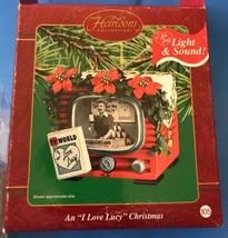 Carlton Heirloom Ornament  An I Love Lucy Christmas  Vitameatavegamin  N... - $27.12