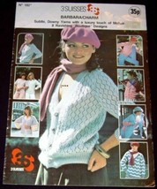 Knitting 3 Suisses Barbara/Charm (Ladies Sweaters - in English) - $4.48
