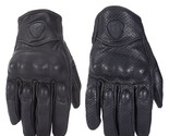 Leather Motorcycle Gloves Touch Screen Men Women Guantes Electric Bike Glove