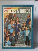 Vintage Stocks and Bonds Bookshelf Board Game 1964  3M Great Condition - $16.82