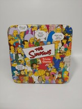 The Simpsons Trivia Game In Collector Tin Box W/ Poster Cardinal 2000 Complete - $19.06
