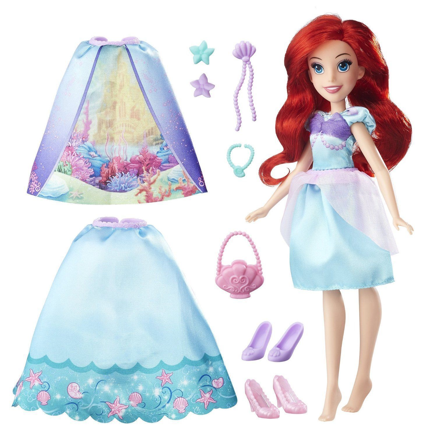 Disney Princess Ariel Layer n' Style Doll in Blue by Hasbro