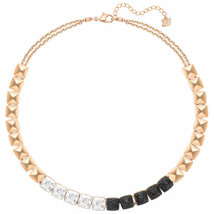 Authentic Swarovski Glance All Around Necklace in Rose Gold - $232.82