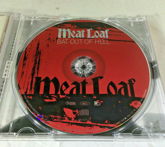 MEAT LOAF / BAT OUT OF HELL / AUTOGRAPHED CD IN CASE / NEW CONDITION / JSA COA image 5