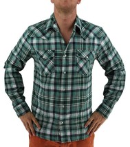 NEW LEVI'S MEN'S CLASSIC LONG SLEEVE BUTTON UP PLAID DRESS SHIRT HGR-3LYLW0062CC