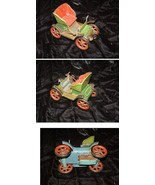 Old Fashioned Tin Toy Car Vintage Made In Japan - $34.99