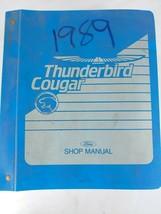 Oem 1989 Ford Thunderbird Cougar Riginal Service Shop Manual - $18.82
