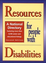 Resources for People With Disabilities: A National Directory (2 vol set) Woodyar