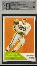 1960 Fleer #98 Larry Grantham RC Rookie GAI 8 NM MT - $69.25