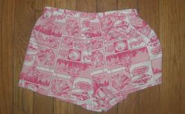 ! Supergirl pink comic book pajama bottoms pants pj jammies sz medium 7 ... - $2.97