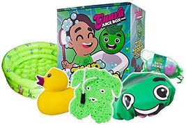 Studio71 Guava Juice Tub Tapper Box - Kids Bathtub Set with Bathtime Accessories