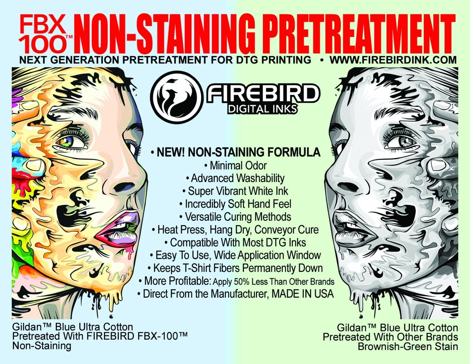 Brother DTG Pretreatment for GT-361 GT-381 and similar items