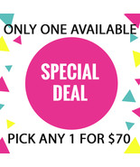 MON - TUES FLASH SALE! PICK ANY 1$8000 OR LESS FOR $70  BEST OFFERS DISC... - $140.00