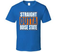 Straight Outta Boise State Idaho University Compton Style T Shirt - $19.99