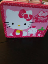1976  Hello Kitty by Sanrio USA Tin Lunch Box  Tin Box Co. Dongguan,China image 4