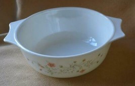 "Vintage Bowl England Pyrex Spring Garden Emily 8"" Mixing Casserole Baking Dish - $8.68"
