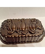 Nordic Ware Loaf Pan Bread Pan Bronze Bake Bakeware Holiday Baker Bread ... - $27.43