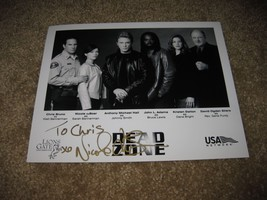 Nicole DeBoer - Dead Zone - Autographed Photo - Signed Original - $17.99